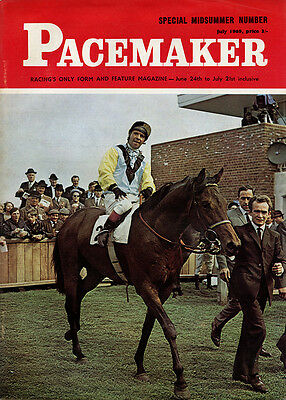 Pacemaker Magazine July 1969 - vintage horse racing publication