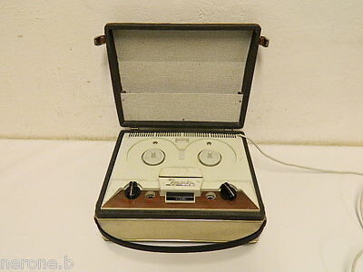 Incis Registratore A Bobine Vintage Reel To Reel Tape Recorder #t751