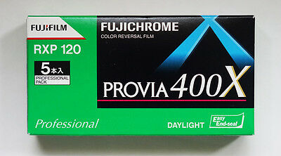 【LIMITED STOCK】Fuji Provia 400X 120 (pack of 5)
