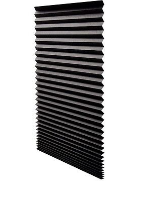 6 Redi Shade Window Blind Blinds Black Out Blackout Pleated 48 x ...