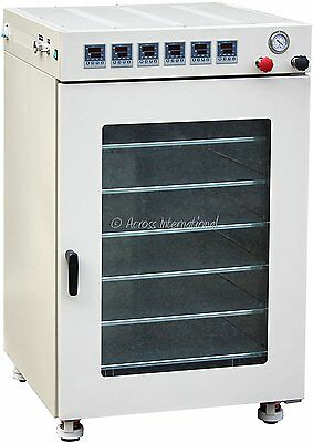 Across International AT160.220 Ai AccuTemp Vacuum Purging Oven with 6 Heated 16