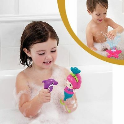 Munchkin Bath Toys Star Fountain & Splash Along Mermaids