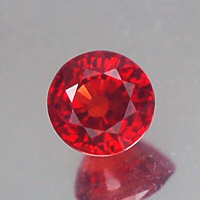 Sensational Vvs Aa Round Rich Red Ruby Natural
