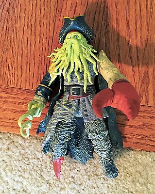 PIRATES OF THE CARIBBEAN DAVY JONES Action Figure ..Dead man's chest