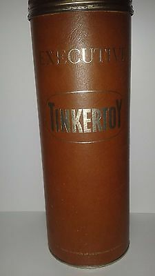 Vintage Executive Tinkertoy 56 pc original certificate(torn)made by AG Spalding
