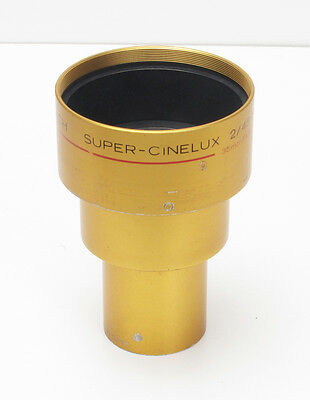 Schneider Super Cinelux 45mm 2.0 MC 35mm Cinema/Movie Projection Lens Cine