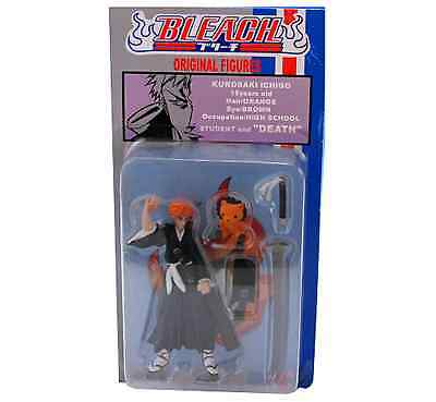 Anime Japan Bleach Limited Edition Promotional Figure Ichigo and Kon New On Card