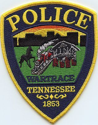 WARTRACE TENNESSEE TN horse train POLICE PATCH
