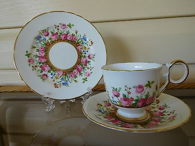 "Vintage H & M Sutherland ""Country Garden"" Trio Made In England"