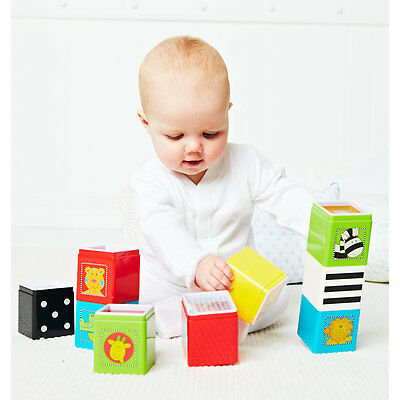 New ELC Boys and Girls Jungle Wonder Cubes Toy From 6 months