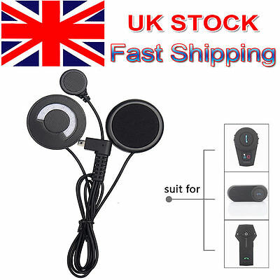 Headset Mic Ear Piece for FDC Bluetooth Intercom BT Motorcycle Helmet Interphone