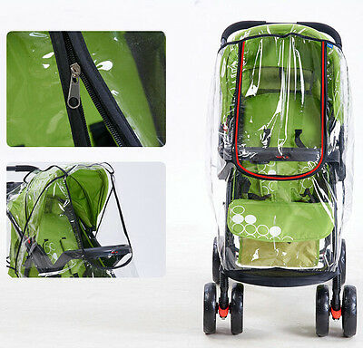 Quality Outdoor Baby Stroller Rain Cover Breathable Pram Accessories Waterproof