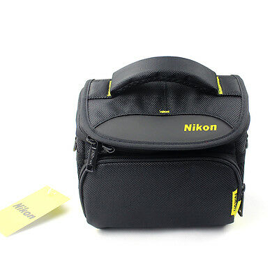 UK B27 Mini Digital Camera Lens Shoulder Bag Case For Nikon Canon Sony DSLR EOS