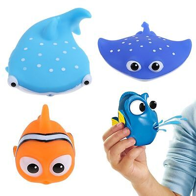 Finding Dory Nemo Squirt Bath Squirters Toys Figures for Kids Baby Shower Swim