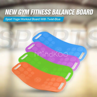 Gym Fitness Balance Board Sport Yoga Workout Board Trainer Crossfit Exercise New