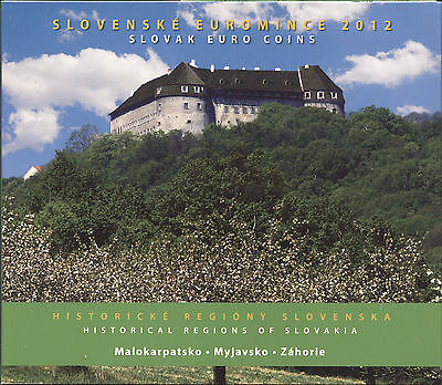 Slowakei Euro-KMS 2012 - Historical Regions of Slovakia