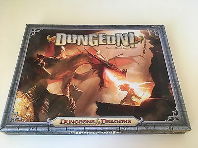 Dungeon! Board Game - Dungeons And Dragons - WotC 2012 - Great Condition