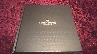 Roger Dubuis HB Watch Catalogue, Hardbacked - Rare English issue