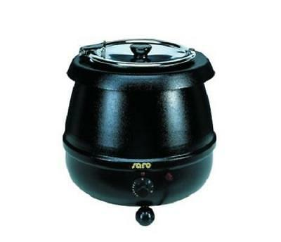 New Black Soup Kettle, Wet Heat Only 10Ltr capacity