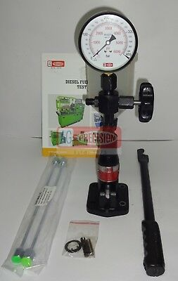 Diesel Injector Nozzle Pop Pressure Tester, Genuine 'AG Precision' Eco Model,New