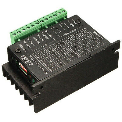 D6 CNC Single Axis 4A TB6600 2/4 Phase Hybrid Stepper Motor Drivers Controller