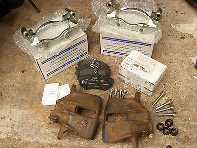 VW MK1 Golf GTI front brake upgrade for GTI models. 256mm calipers carriers
