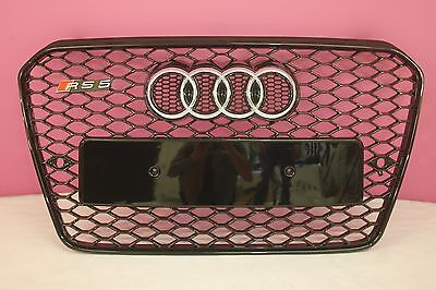 2012-2015 Audi  Rs5 Style Front Grill Black Edition Fits A5 S5 Uk Stock