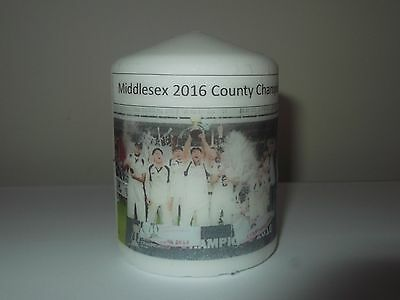 Middlesex Cricket County Champions 2016 Candle Gift