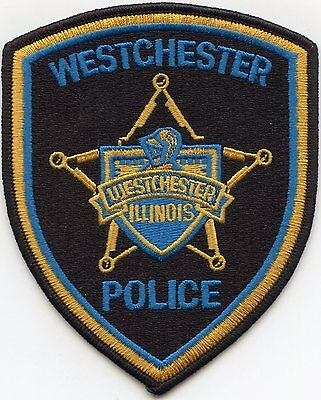 Westchester Illinois Il Police Patch