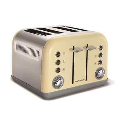 Morphy Richards 242003 Accents Toaster 1800 W - Cream - SAME DAY DISPATCH