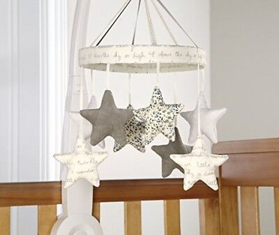 Baby Musical Cot Mobile Nursery Lullaby Hanging Stars Kids Cot Bed Music Mobiles