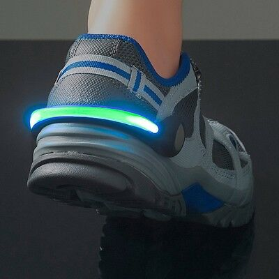 GoFit Security LED Light Clip for Running Shoes High Visibility Jogging Trainers