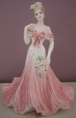 """Coalport figurine """"Fairest Lily"""" the flower ladies collection in MINT CONDITION"""