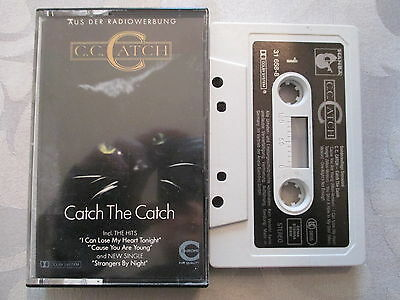 C.C. Catch - Catch the Catch - MC Cassette Musikkassette Sonderauflage RARE