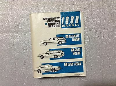 1990 chevy celebrity wagon pontiac 6000 shop manual 90 repair rh picclick com 1985 Pontiac 6000 1988 Pontiac 6000