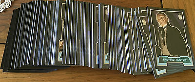 Doctor Who 2015 by Topps Lot of 156 Blue Parallel Cards Numbered xxx/199