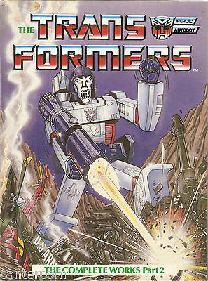 The Transformers The Complete Works Part 2 1986 Hard Back