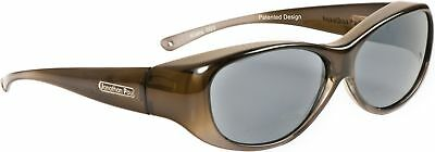Fitovers Eyewear - Kiata - Olive Charcoal/polarized Grey - Fits Over Small