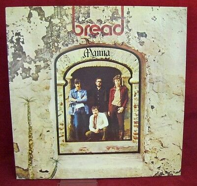 BREAD: Manna:  1971 UK album vinyl LP on Elektra - Rare NM/NM