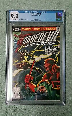 Daredevil 168 CGC 9.2, freshly graded. 1st Elektra!