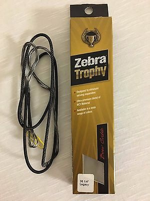 Zebra Trophy Legacy Bow Cable 36 1/4'' Grey