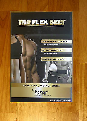 New in the box the flex belt abs abdominal exercisers belt six pack diet plan