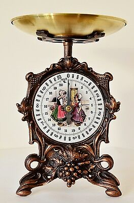 Antique, Shabby Chic, Vintage, Rustic Style, Old German Kitchen Scale- Girls