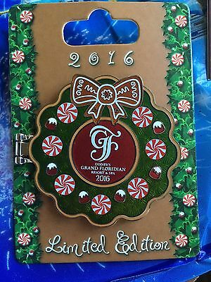 Disney PIN 2016 Gingerbread LE 4000 Mickey Minnie Mouse Grand Floridian