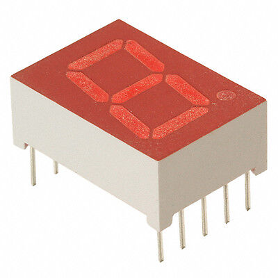 (40) LTS-546AHR Lite-On Red LED 7-Segment Display Module High-Efficiency NEW $80