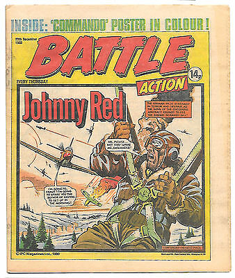 Battle Action 20 Dec 1980 (very high grade) Charley's War, Rat Pack, Johnny Red