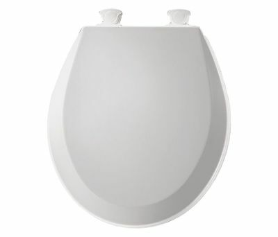 bemis white toilet seat. BEMIS White Toilet Seat  Round With Cover 16 13 In 500EC 000