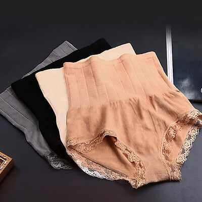 Lady's High Waist Body Shaper Brief Underwear Tummy Control Panties Shapewear