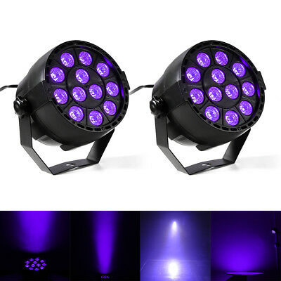 4PCS 6LED RGB 3in1 Plastic Portable Disco Beam DJ Club Stage Party Effect Light