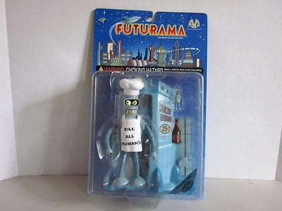 Moore Action Collectibles FUTURAMA 2000 CHEF BENDER FOOD SUICIDE BOOTH  Figures